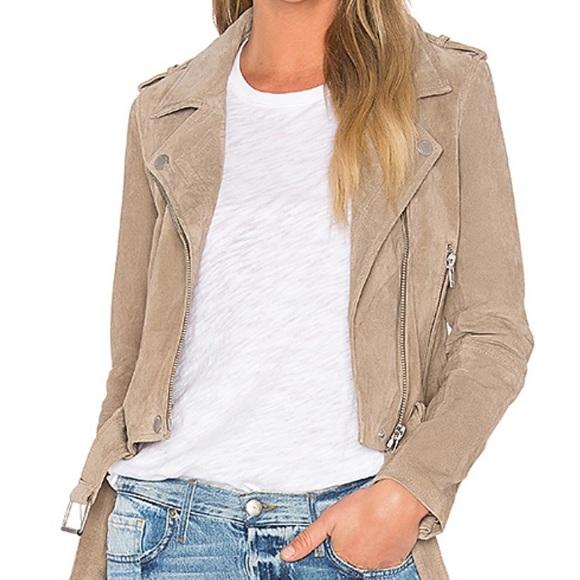 Uterque Jackets & Blazers - Uterque tan suede jacket